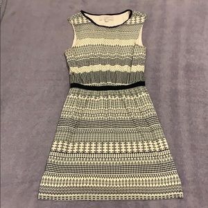 Loft dress with beautiful pattern